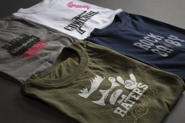 Portfolio image t-shirt designs Eric Steuten Creative Director art direction & UI UX designer