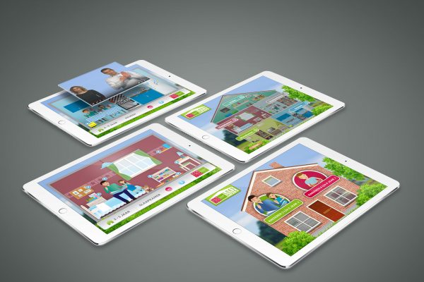 Portfolio image web application UI UX koninklijke Kentalis Eric Steuten Creative Director art direction & UI UX designer