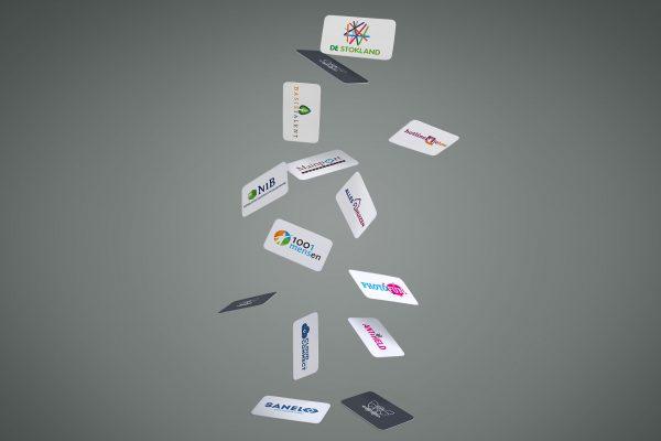 Portfolio image various logo branding huisstijl Eric Steuten Creative Director art direction & UI UX designer
