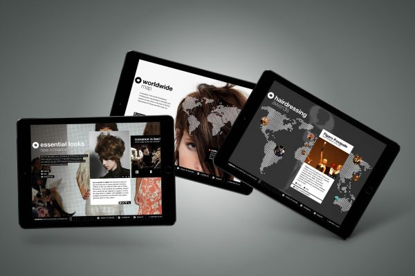 Portfolio image visual concept UI Schwarzkopf Professional Eric Steuten Creative Director art direction & UI UX designer